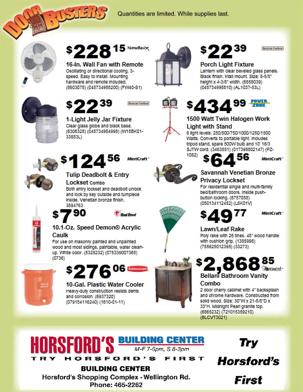 Door Busters: DoorBuster 2 Page Flyer ... 01/01/1900 (05/10/2011