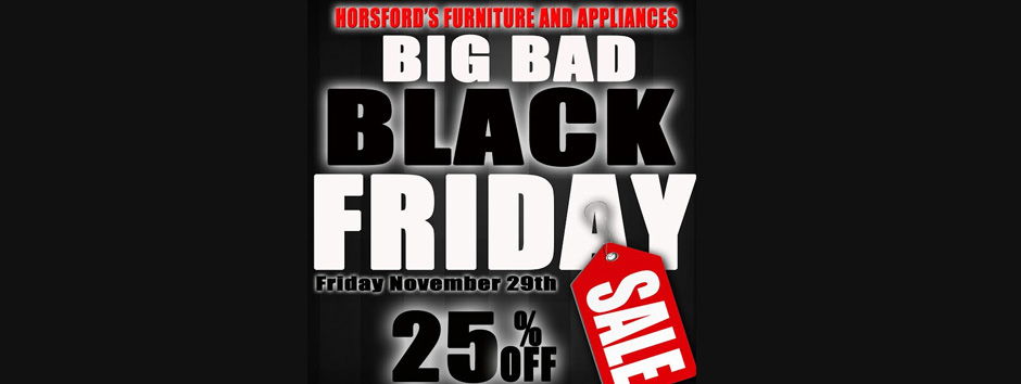 Black Friday Comes To Horsford S St Kitts Nevis Horsford S Group Of Companies