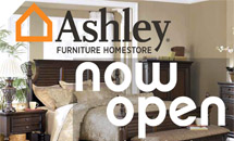 Ashley Furniture Now Open
