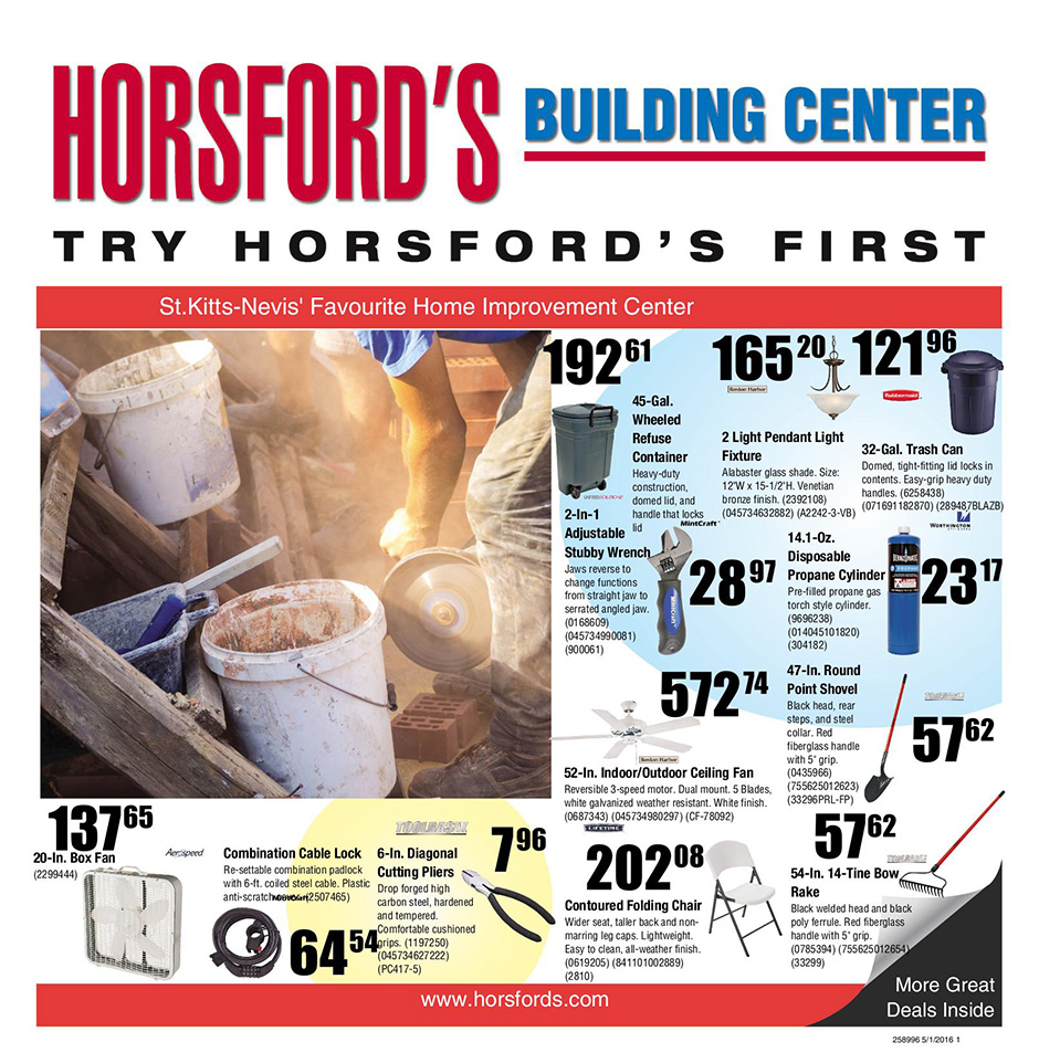 Building Center Discounts Flyer