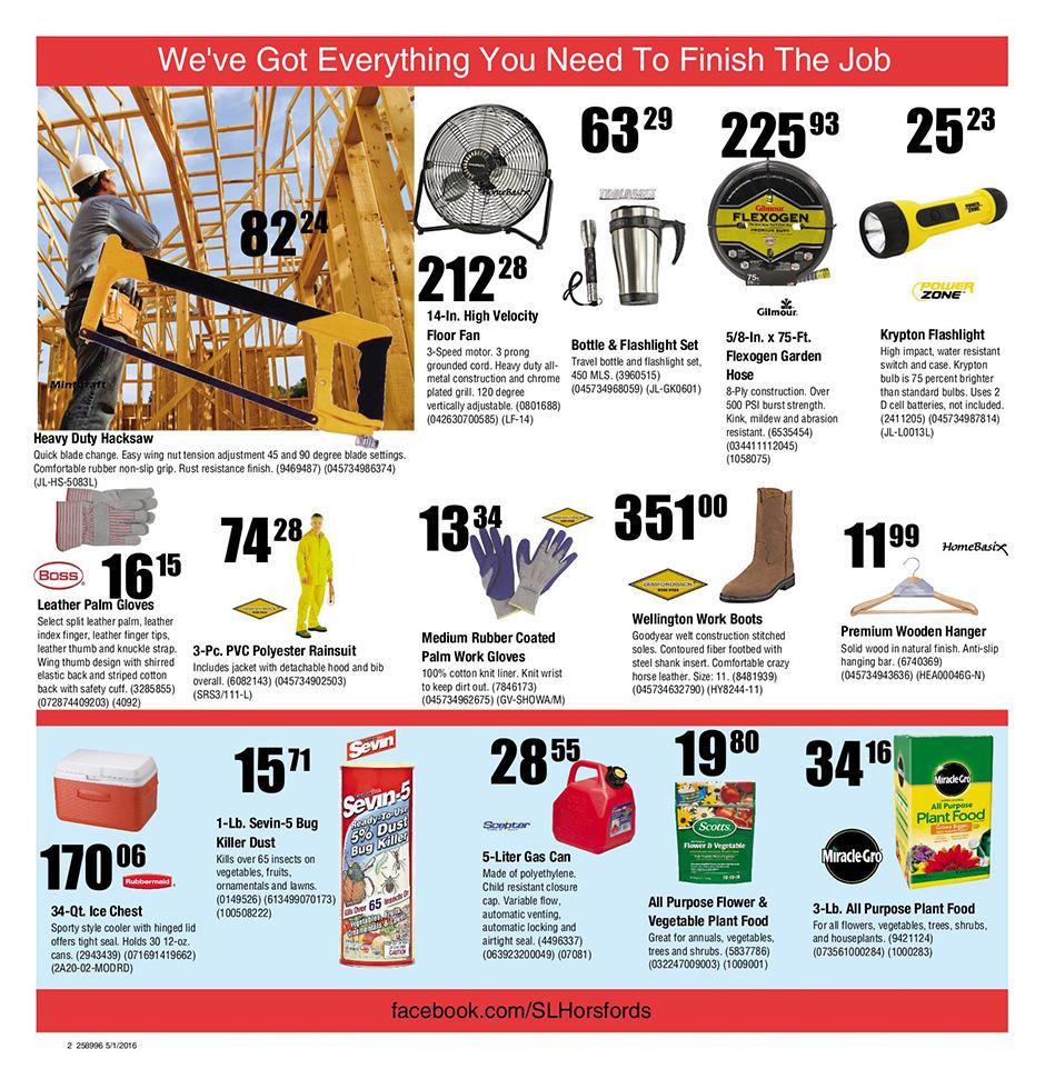 Building Center Discounts Flyer